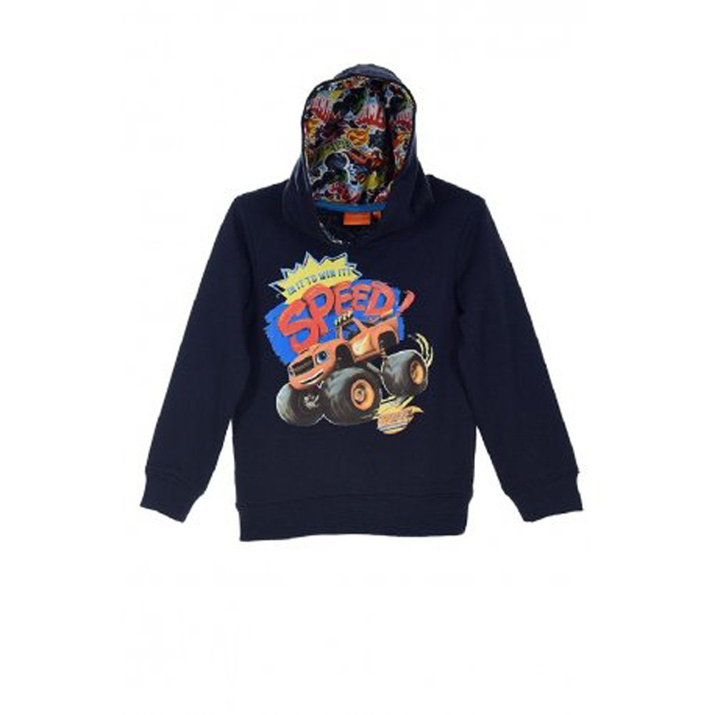 Blaze and The Monster Machines Win with Speed Hooded Jumper New 2018 BLAZE MONSTERS