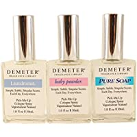 Demeter Fresh and Clean Collection 3 Piece Gift Set for Women