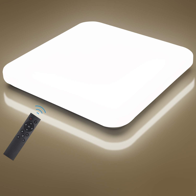 Oeegoo 24W LED Deckenleuchte Dimmbar - LED Deckenleuchten Dimmbar