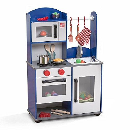 Step2 Midtown Modern Wood Kitchen Play Kitchen