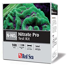 Red Sea Fish Pharm ARE21420 Saltwater Nitrate Pro Test Kit for Aquarium, 100 Tests