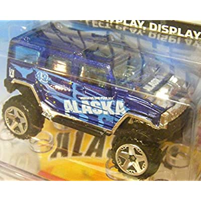 Mattel Hot Wheels Connect Cars Hummer H2 Alaska: Toys & Games