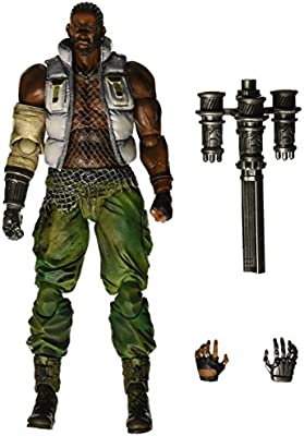"Final Fantasy VII 7 Advent Children /""Barret Wallace/"" Play Arts Kai Action Figure"