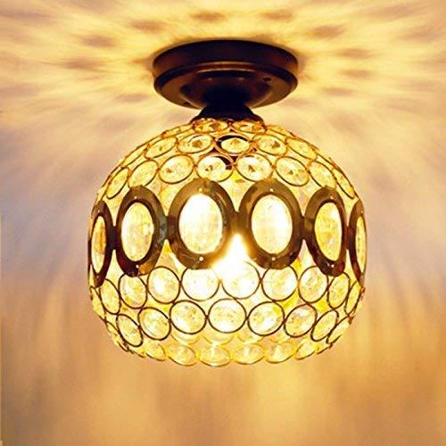 Eeayyygch Home Außenbeleuchtung Deckenleuchte Moderne American Style Style Style Eisen Retro Industrial Beleuchtung Korridor Lampen Warmes Licht 20 cm G (Farbe   -, Größe   -) ab474f