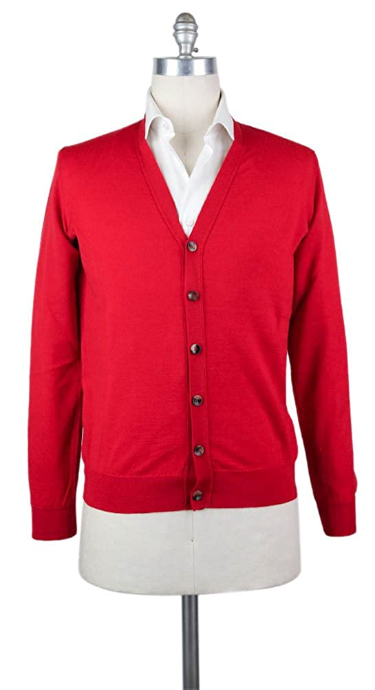 Svevo Parma New Red Wool Sweater Medium//50