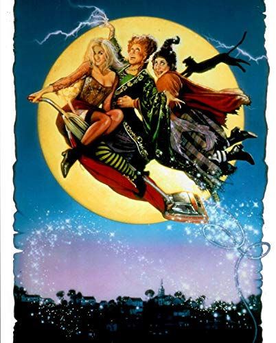 - Hocus Pocus Sarah Jessica Parker, Bette Midlerm and Kathy Najimy on vacuum illustration 8 x 10 Inch Photo LTD 10
