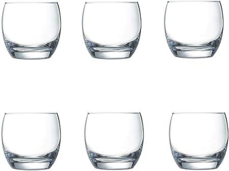 Arcoroc ARC C2118 Cabernet Salto - Vaso de chupito, Vidrio, Whisky 320ml