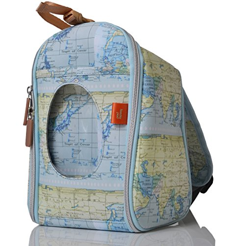 aeb807a0be0e PacaPod Designer Limited Edition Map Print Feeder Pod- Luxury Baby and  Toddler Cool Bag With Backpack Straps - Buy Online in Oman.