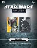 2016 Topps Star Wars Evolution 24 Pack Hobby Box