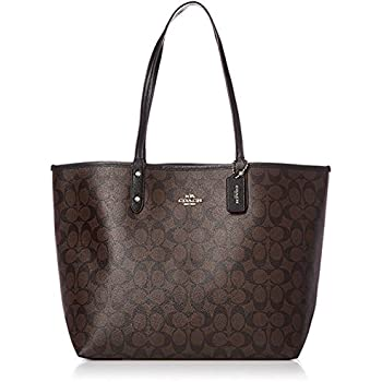33e574dd Amazon.com: Coach Women's Reversible Canvas City Tote No ...