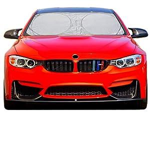 7sizes=Better fitment for Every Vehicle Car Windshield Sun Shade – Blocks UV Rays Sun Visor Protector, Sunshade To Keep…