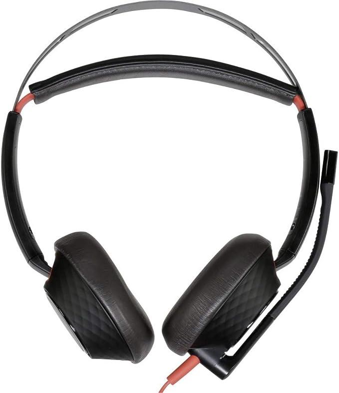Plantronics Headset Kopfhörer Blackwire C5220 Binaural Elektronik