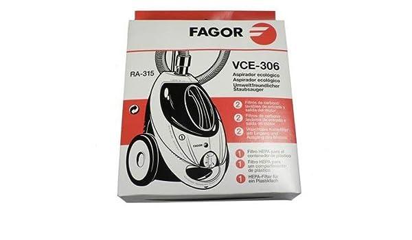 FAGOR FAGOR-Filtro para aspiradora: Amazon.es: Hogar