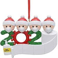 Adorno de familia sobrevivido Adornos de árbol de Navidad 2020 Adornos de adorno de Navidad, en cuarentena en casa…