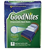Health & Personal Care : GoodNites Disposable Bed Mats, 80 Count (Value Pack)