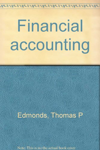 Financial Accounting Book Pdf