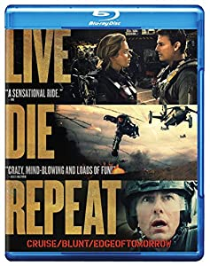 Cover Image for 'Live Die Repeat: Edge of Tomorrow (Blu-ray + DVD + Digital HD UltraViolet Combo Pack)'
