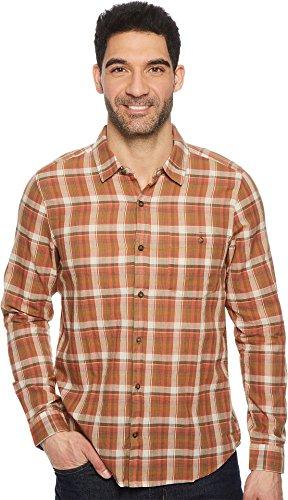 Weave Terra Cotta - Toad&Co Men's Cuba Libre L/S Shirt Terra Cotta X-Large