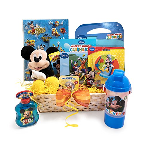 Easter Gift Basket Idea for Kids XOXO Mickey themed Colorful Easter Gift Baskets for -