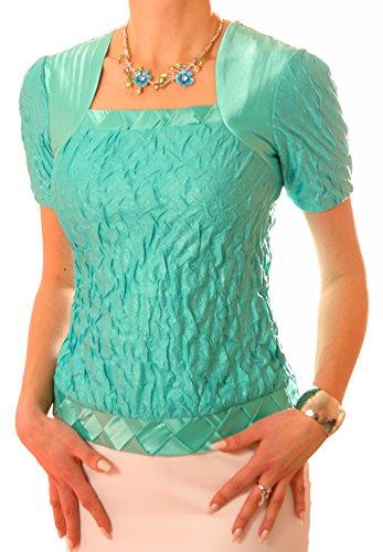 Poshtops - Camiseta - para mujer Verde