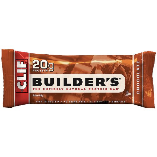 Cliff Bar Builder Bar, Cookies N Crm, 2.40-Ounce (Pack of ()