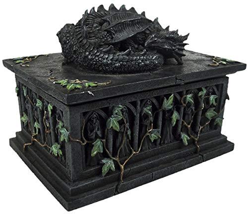 - Nemesis Now Now102 Dragon Ivy Tarot Card Box 18 Centimeters