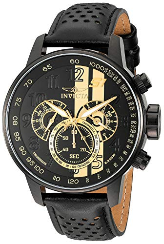 Invicta Men's 19289 S1 Rally Analog Display Japanese Quartz Black Watch