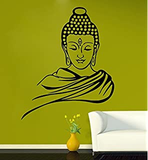 SRG India Buddha Removable Decor Wall Stickers Decal FREE 12 PIECE BUTTERFLY