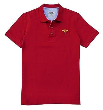 Polo Aeronautica Militare PO1051P82 rojo - Color - ROJO, Talla - L ...