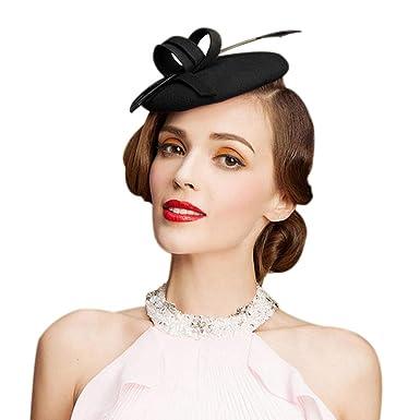 Olado Fascinadores Para Boda Mujeres Elegantes Sombreros