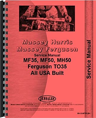 Massey Ferguson 35 Tractor Operators Manual MH-O-MF35