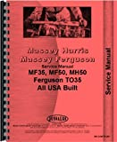 Massey Harris 50 Tractor Service Manual (1955-1956)