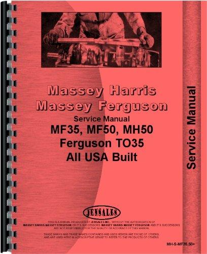 Massey Harris 50 Tractor Service Manual (1955-1956)