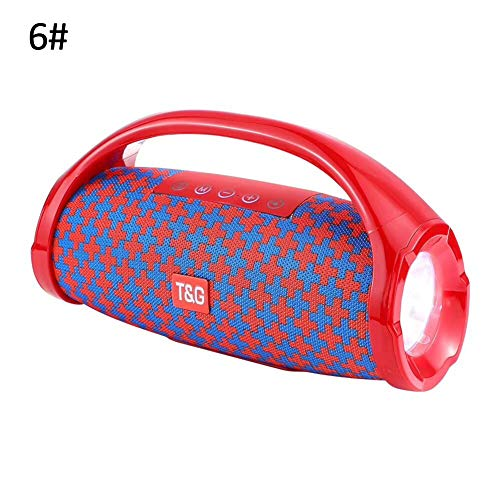 TG136 Outdoor Portable Waterproof LED Flashlight Handheld Bluetooth Speaker - 6# by ()