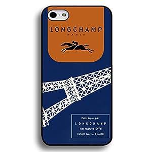 Fashion Longchamp Paris Logo Phone Case Cover MK30 for Iphone 6 Plus/Iphone 6s Plus 5.5 Inch Black Hard Case_NAVY BLUE