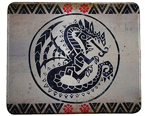 12x10 Inch Monster Hunter World MHW Gaming Collection Office Mouse Pad Non Slip Rubber Mouse mat