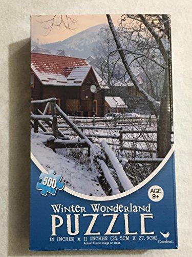 Winter Wonderland Jigsaw Puzzle Twilight