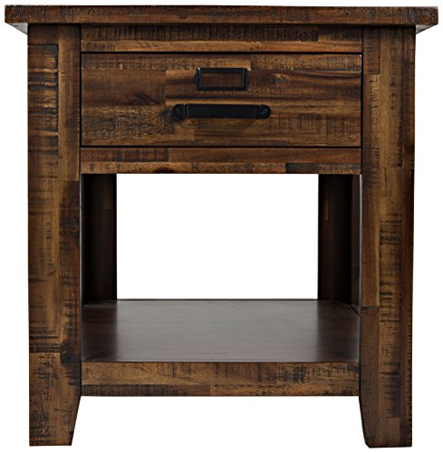 Jofran: 1510-3, Cannon Valley, Square End Table, 24