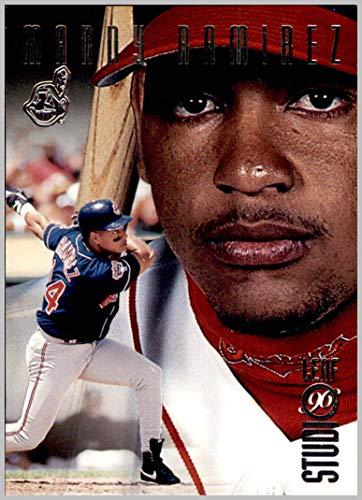 1996 Donruss Studio #114 Manny Ramirez CLEVELAND - Manny Ramirez Studio