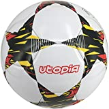 Soccer Ball - Size 5 - Training and Match Water Proof Football - Alternate pattern - by Utopia Fitness