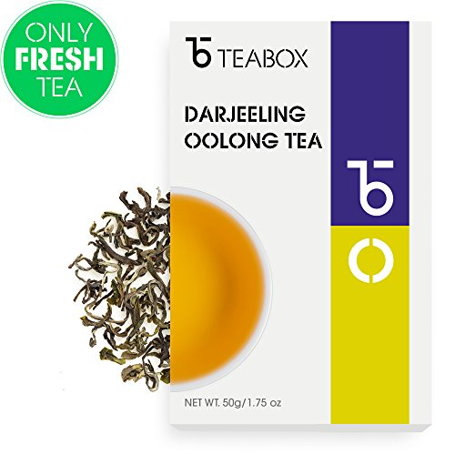 long Tea 1.75 Oz (25 Cups)   Whole Leaf,Unblended, Single-Origin, Premium Grade Spring-Flush Oolong Tea (Jungpana Tea Estate)   Sealed-at-Source Freshness from India ()