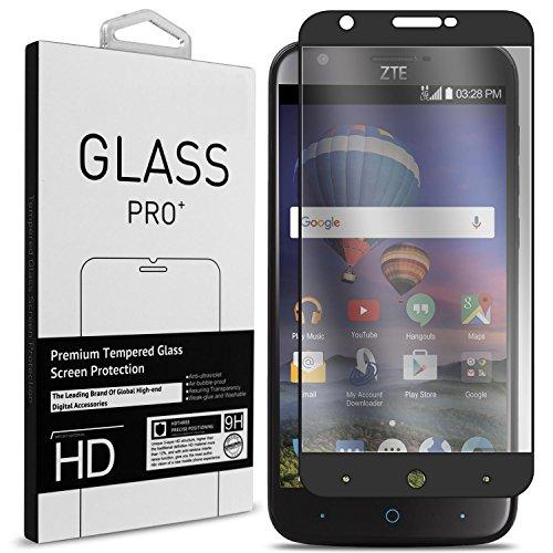 ZTE ZMax Champ Screen Protector, ZTE ZMax Grand LTE Screen Protector, ZTE Grand X3 Screen Protector, ZTE Avid 916 Screen Protector, CoverON Full Coverage Tempered Glass Screen Protector - - Glasses Grand Central