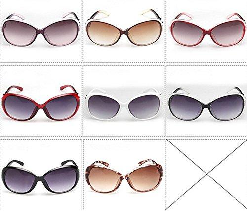Lunettes Fashion Sunglasses Style Femme Classiques Demarkt De Rayonnement Lunettes Lunettes Soleil Blanca 1PC De UV Protection xPgg7Oq