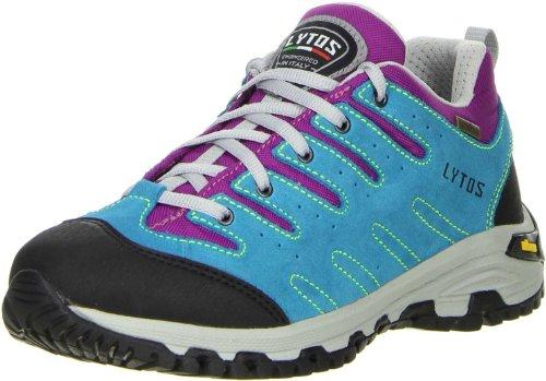 LYTOS Damen Wanderschuhe Trekkingschuhe türkis violett 40
