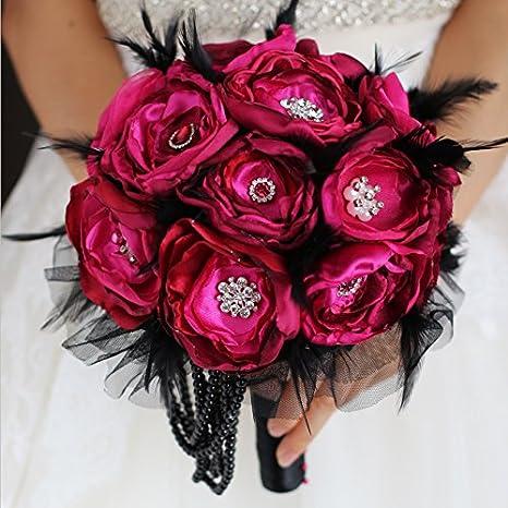 Wedding Fabric Brooch Bouquet   Brooch Bouquet  Made to Order