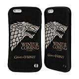 Official HBO Game Of Thrones Stark House Mottos Hybrid Case for Apple iPhone 6 Plus / 6s Plus