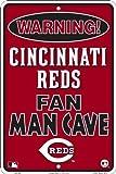 HangTime Cincinnati Reds Fan Man Cave Sign