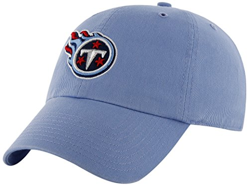 NFL Tennessee Titans '47 Brand Clean Up Adjustable Hat, Peri
