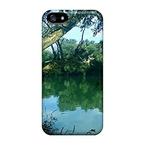 Awesome Summer Tranquility Flip Case With Fashion Design For Iphone 5/5s