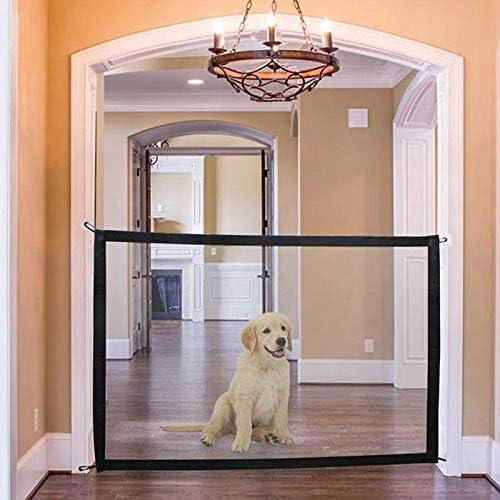 dgaf/&bae Pet Gate Magic Gate Hunde T/üRschutzgitter Faltbar Hundeschutzgitter Haustiere Sicherheitsgitter Safe Guard F/ür Pet Gate